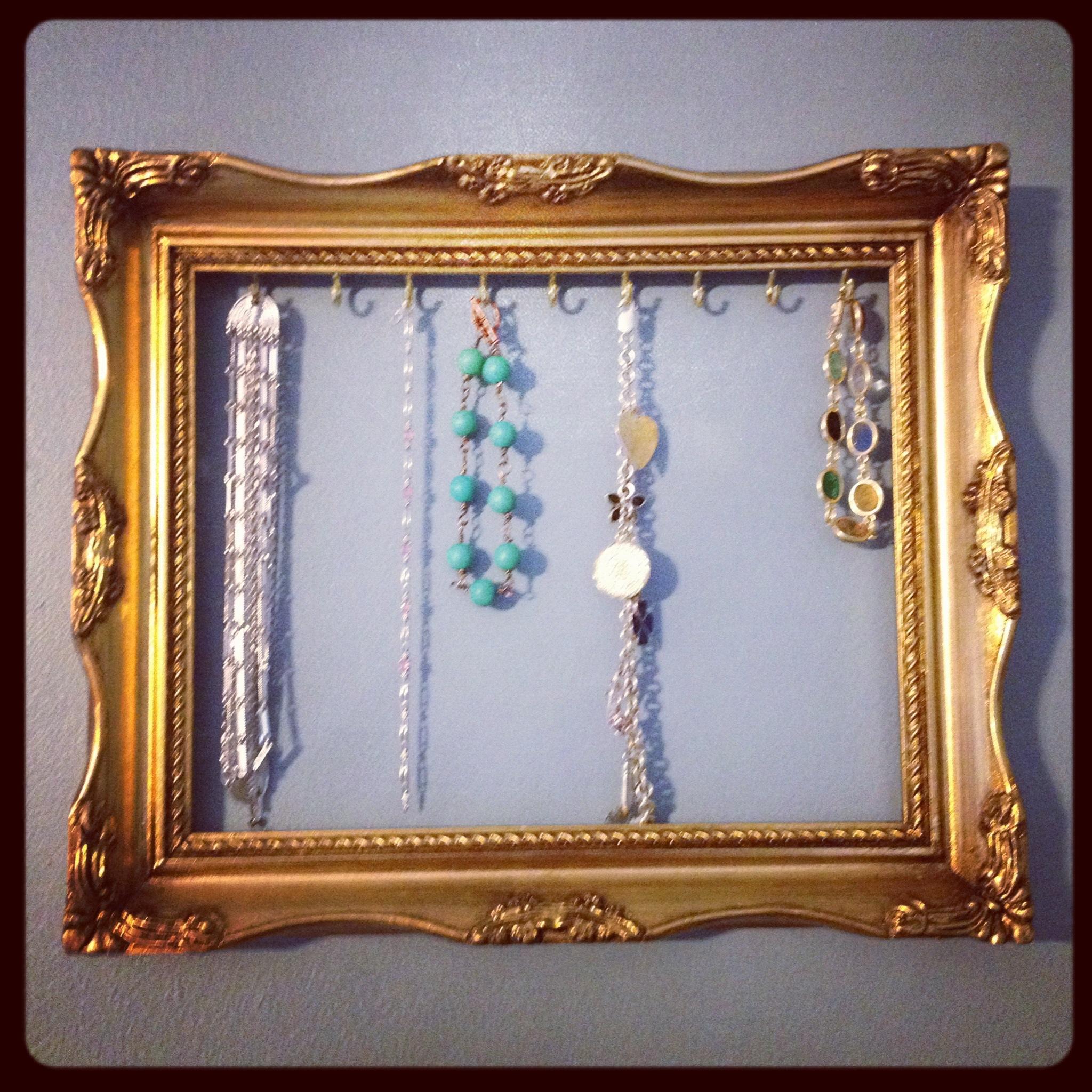 Custom Jewelry Display Frame: Vintage Inspired Jewelry Displays