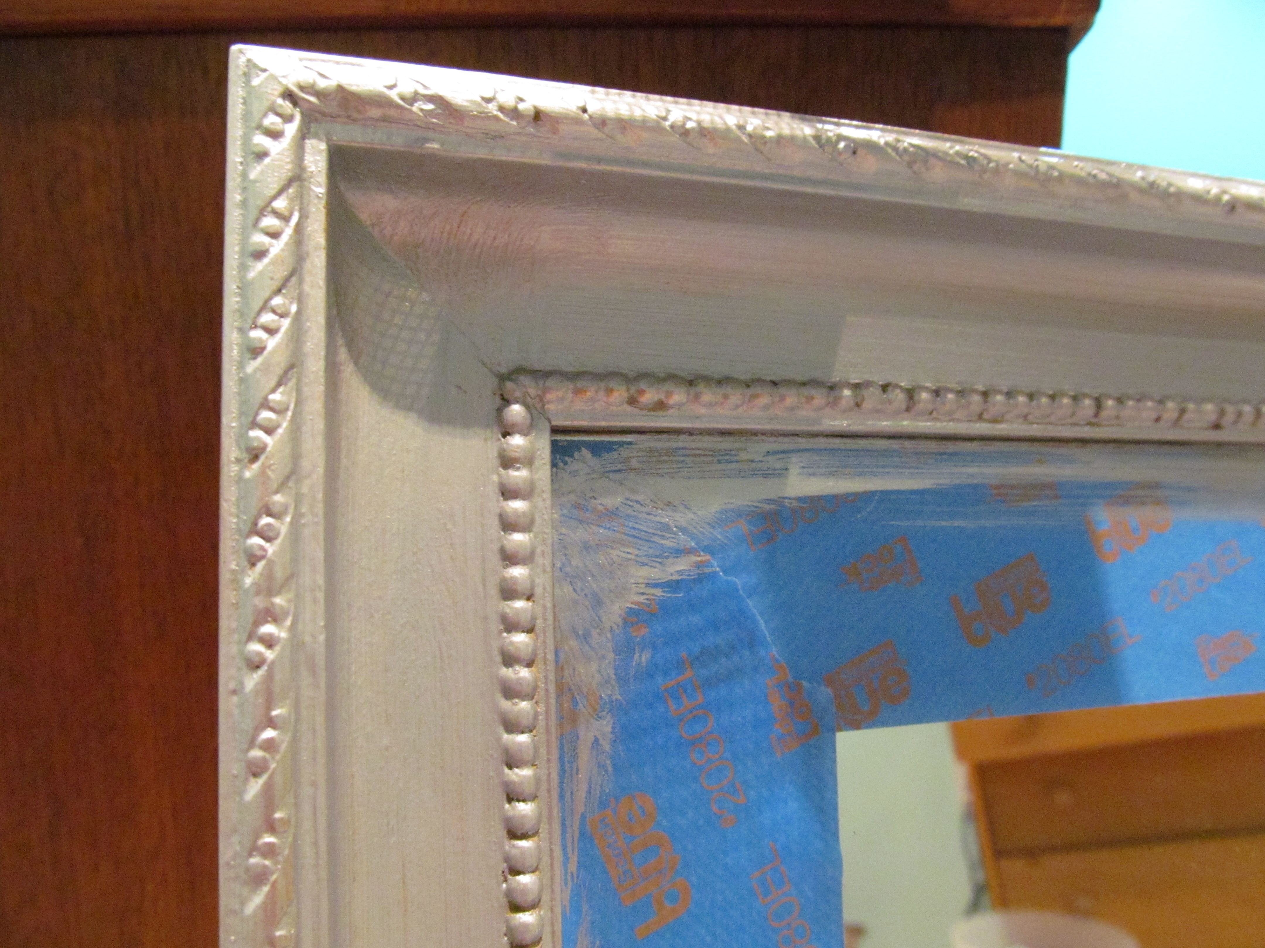 Attractive Painting A Mirror Frame Gallery - Picture Frame Ideas ...