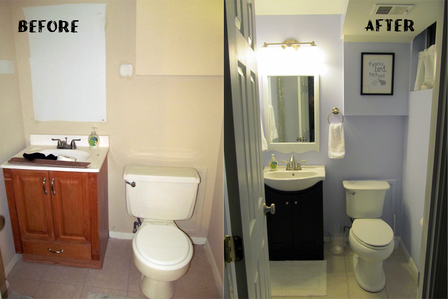 Family Room Bathroom Renovation Reveal A Smith Of All Trades - How much is it to renovate a bathroom