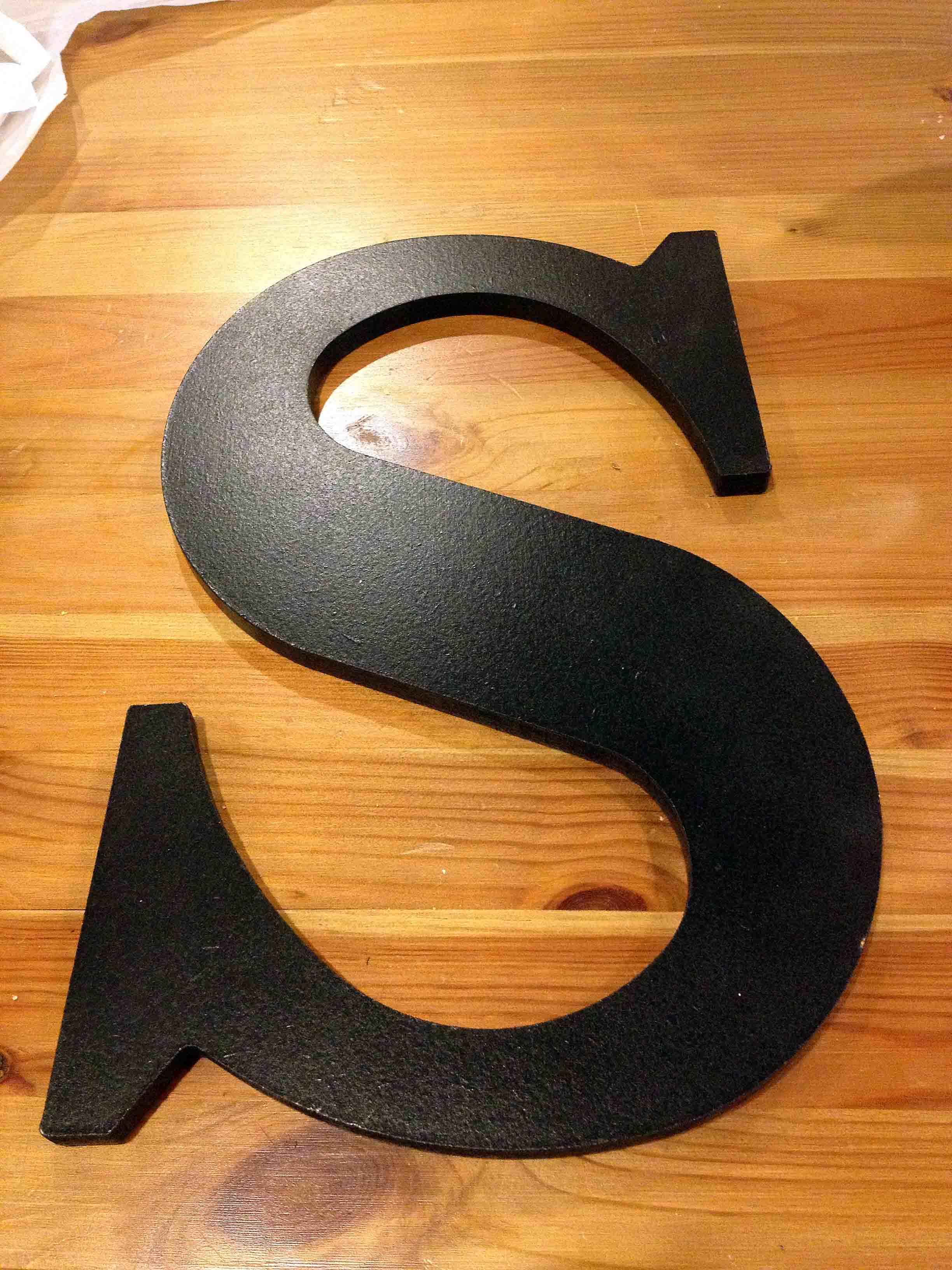 Wine Cork Letter S A Smith Of All Trades
