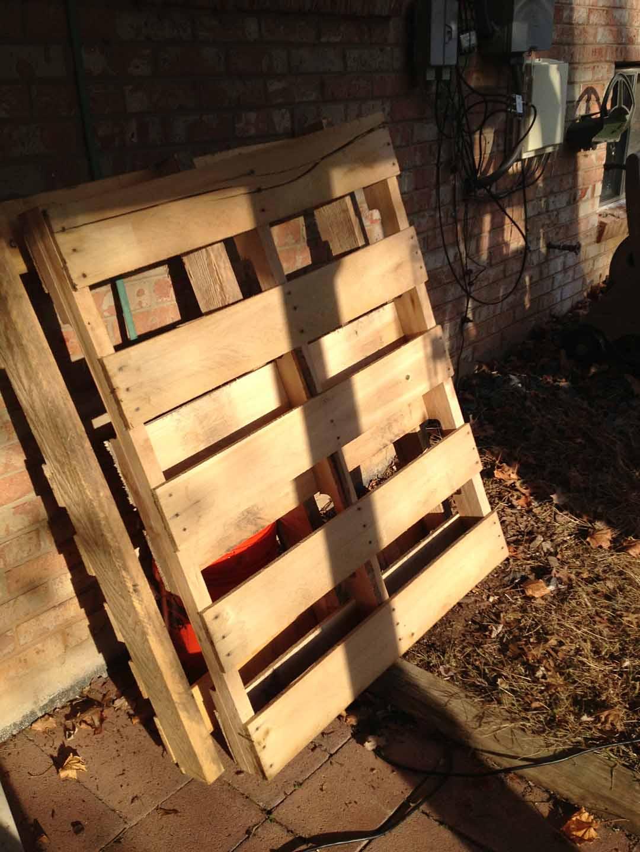 wood ottoman plans