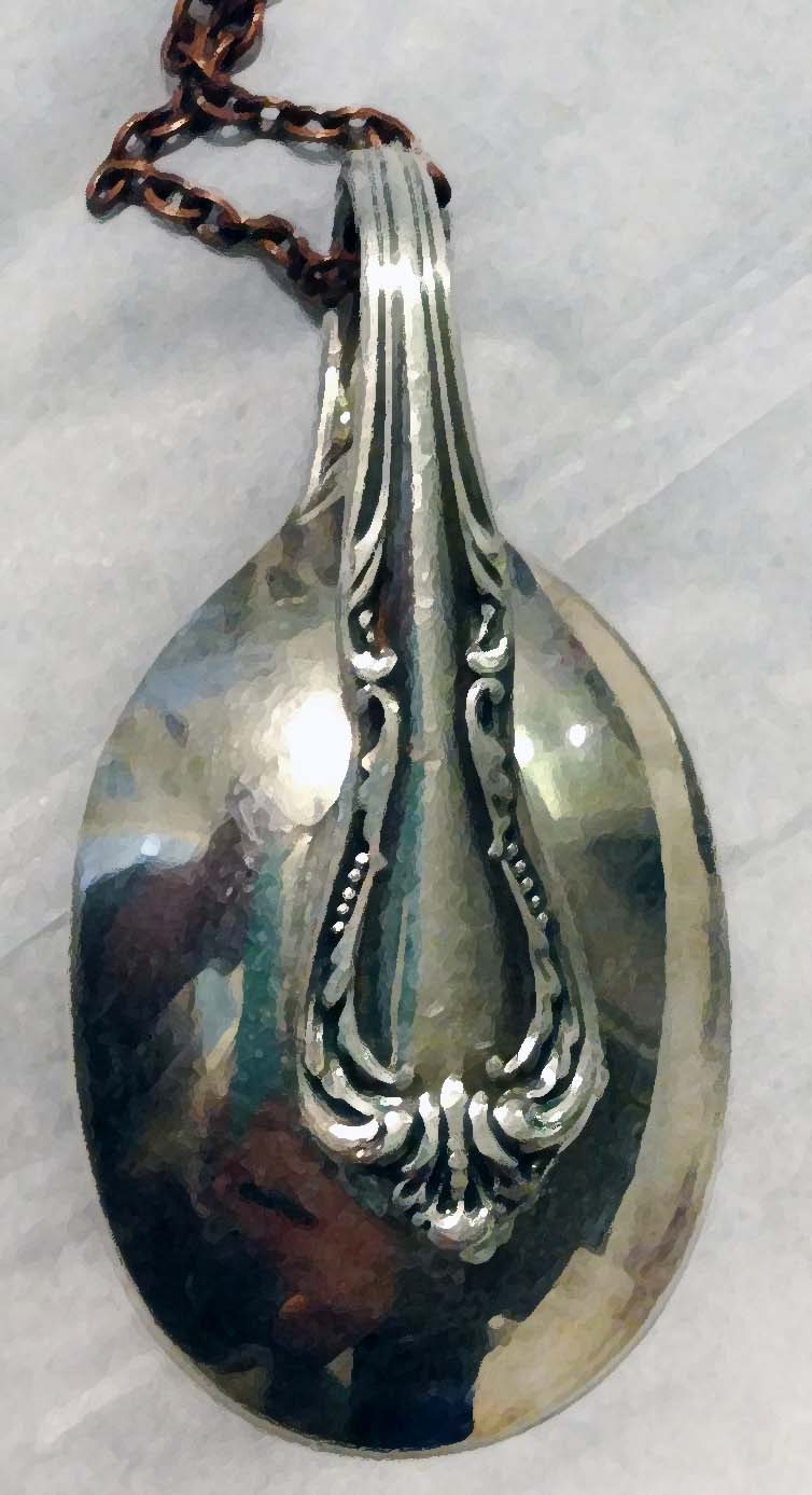 Spoon necklace