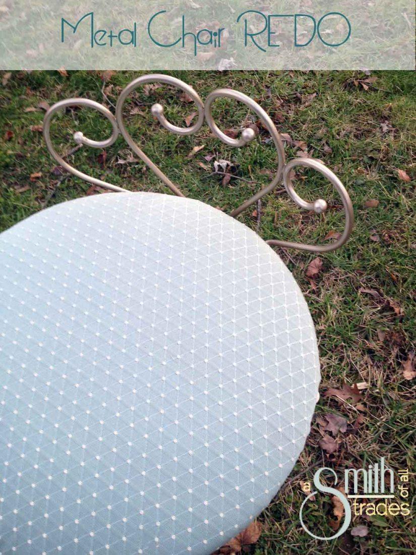 metal chair redo