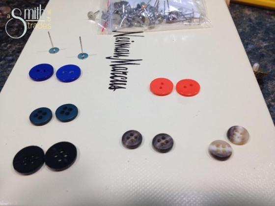 button earrings1
