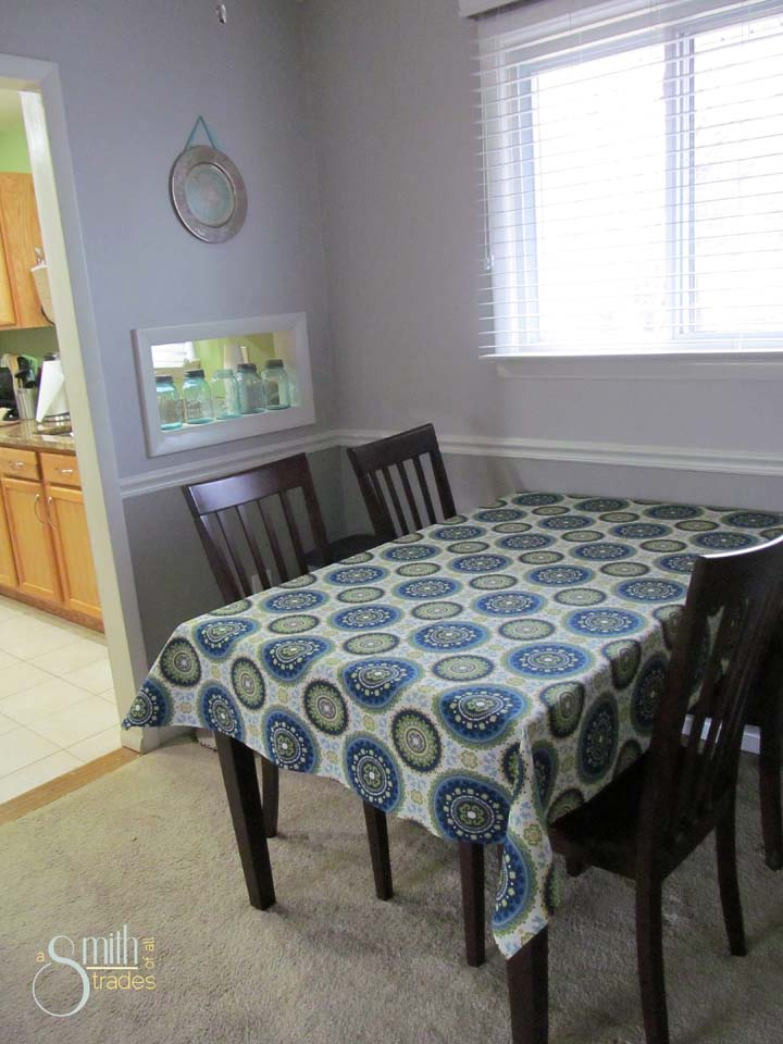 No-Sew Tablecloth 1