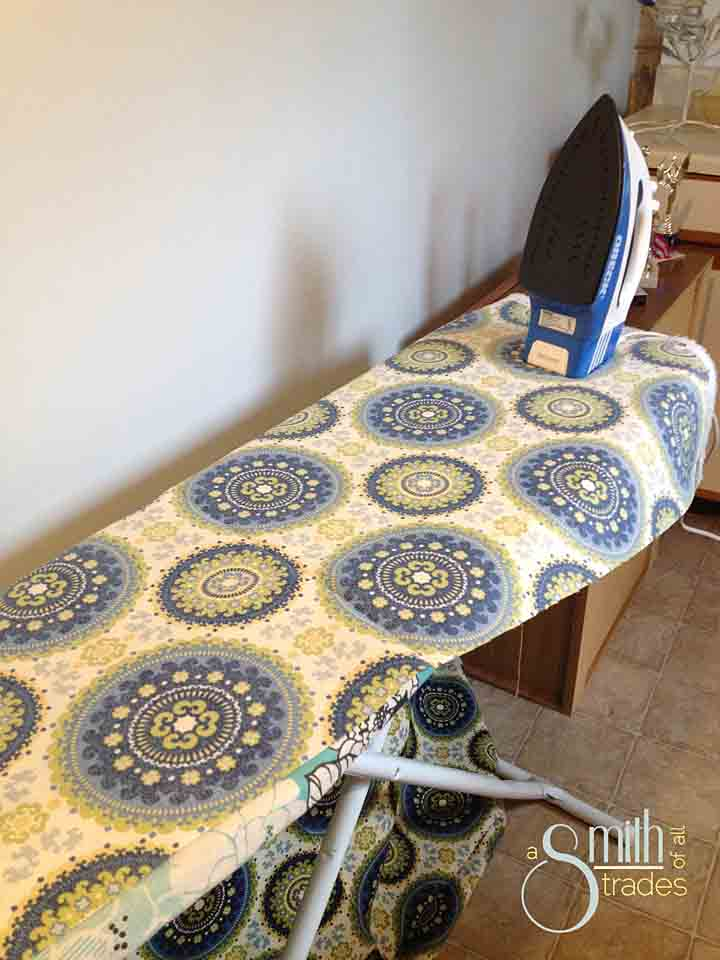 No-Sew Tablecloth iron