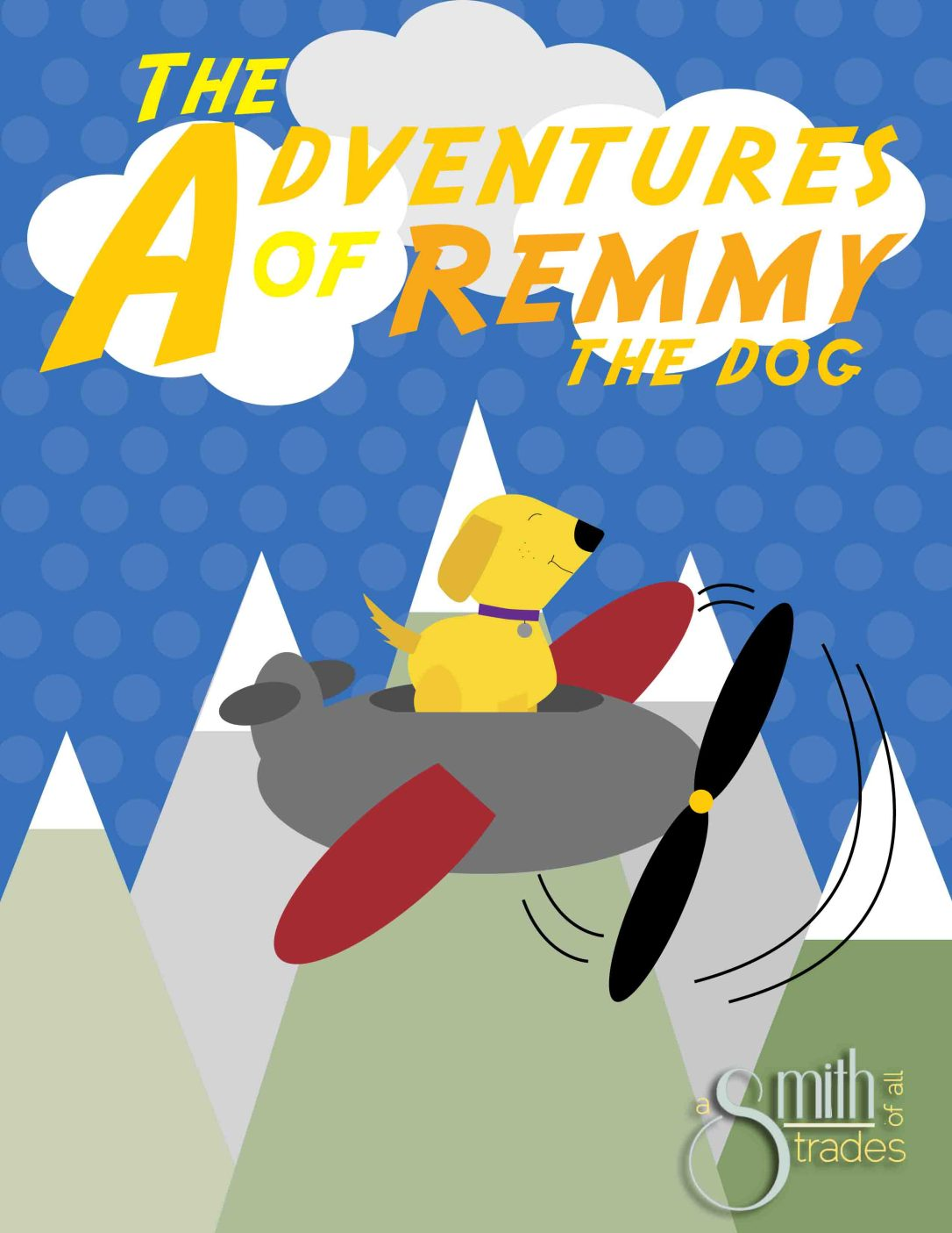 The Adventures of Remmy the Dog - for blog