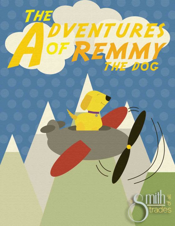 The Adventures of Remmy the Dog -Sepia for blog