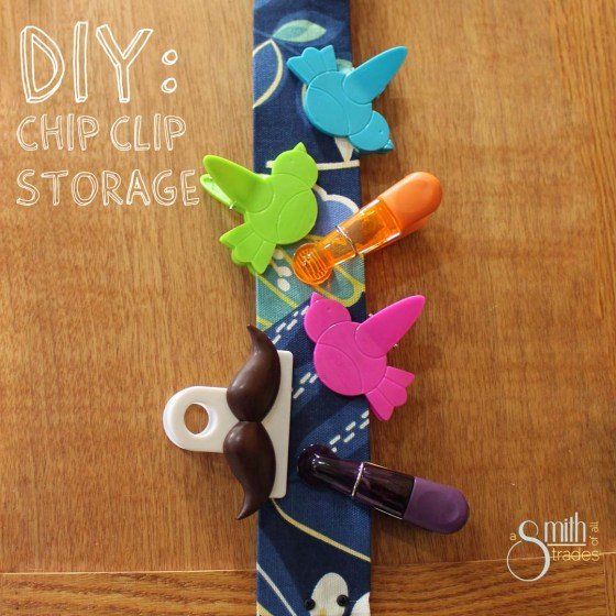 {A Smith of All Trades} Chip Clip Storage