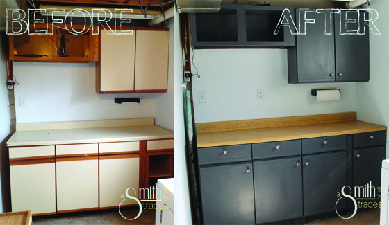 {A Smith of All Trades} Laundry Room Before and After