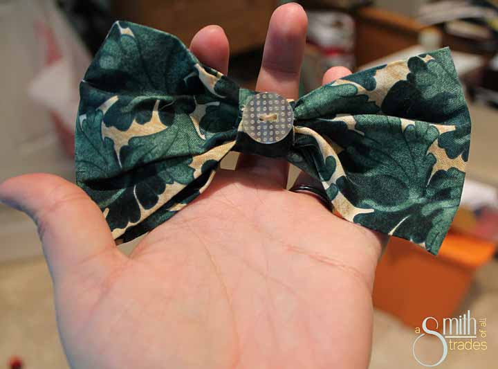 {A Smith of All Trades} Remmy and his bow tie11