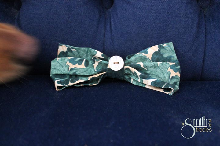 {A Smith of All Trades} Remmy and his bow tie12