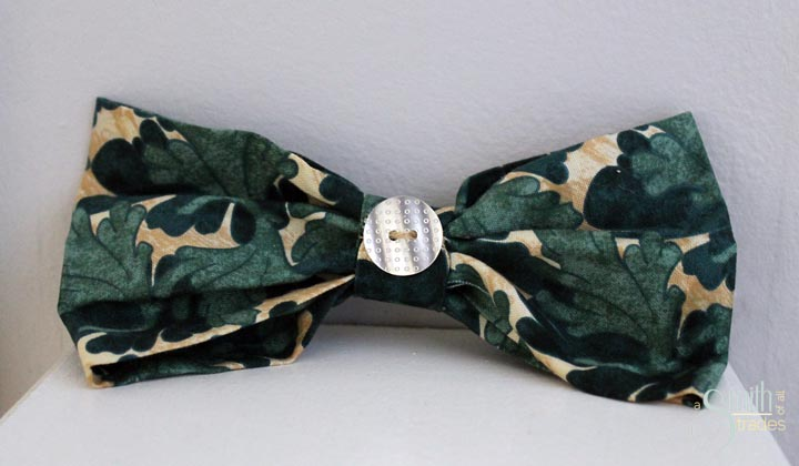 {A Smith of All Trades} Remmy and his bow tie14