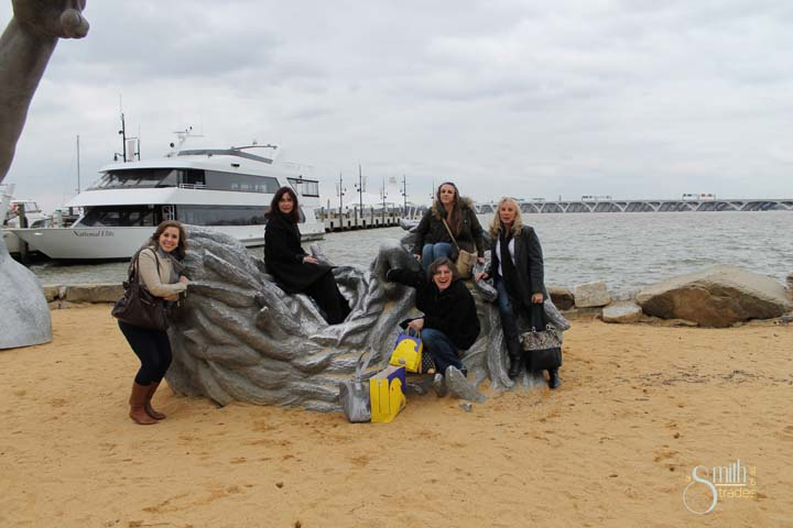 A group shot (minus me) at National Harbor.