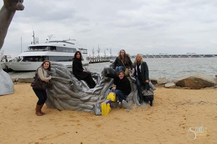 A group shot (minus me) at National Harbor.