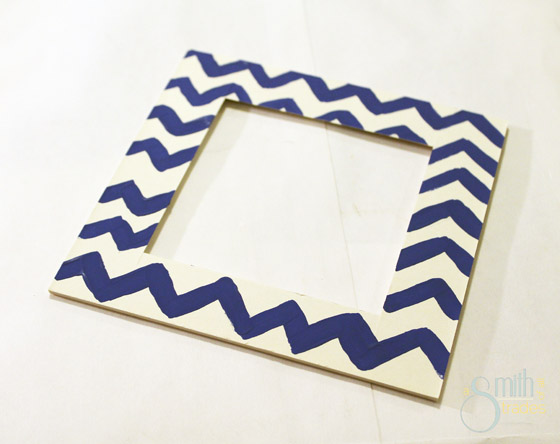 {A Smith of All Trades} Painted Frame Mats