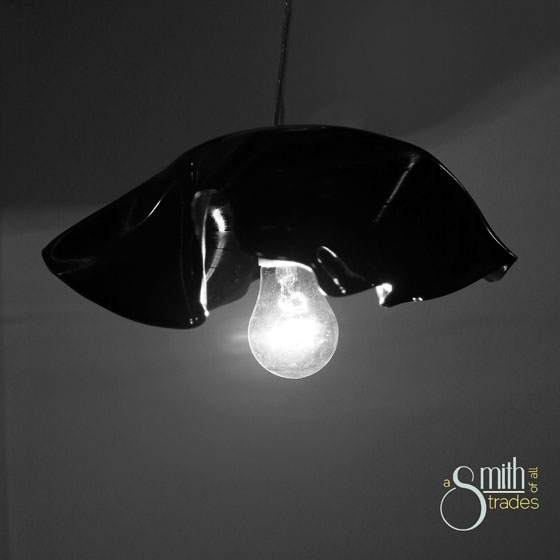 (A Smith of All Trades) Record Pendant Light