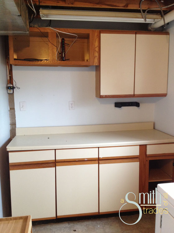{A Smith of All Trades} Laundry Room Before