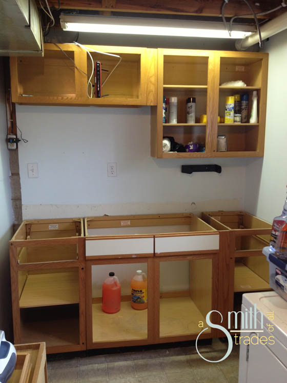 {A Smith of All Trades} Laundry Room No Doors