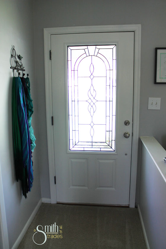 {A Smith of All Trades} Front Door Inside After