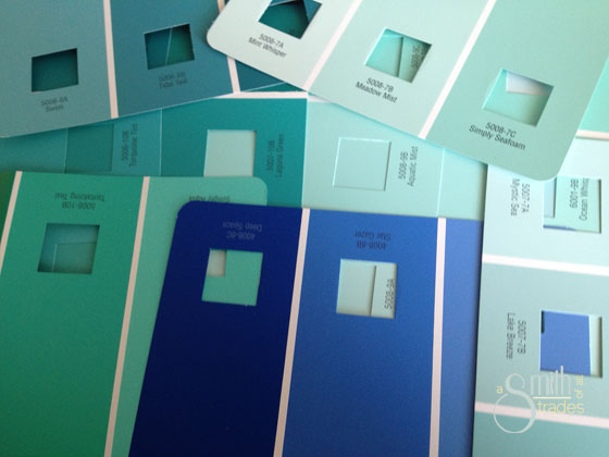 {A Smith of All Trades} Paint Swatches