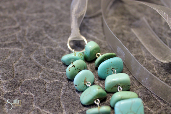 {A Smith of All Trades} Turquoise Necklace