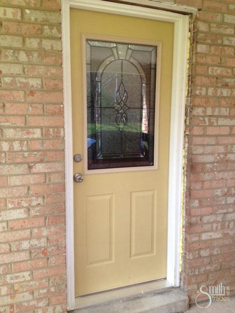 Installed front door