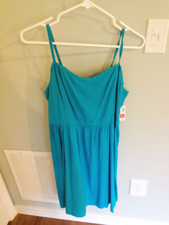 {A Smith of All Trades} Blue Dress Before