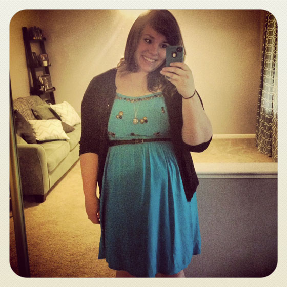 {A Smith of All Trades} Blue Dress Complete Instagram