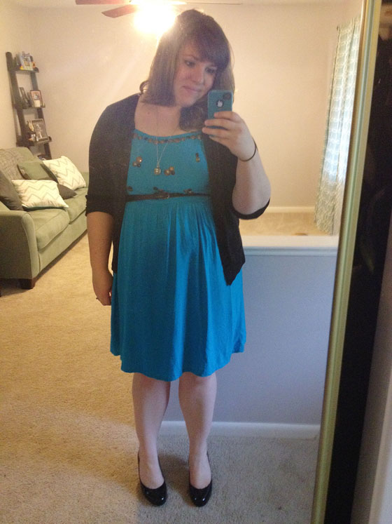 {A Smith of All Trades} Blue Dress Complete