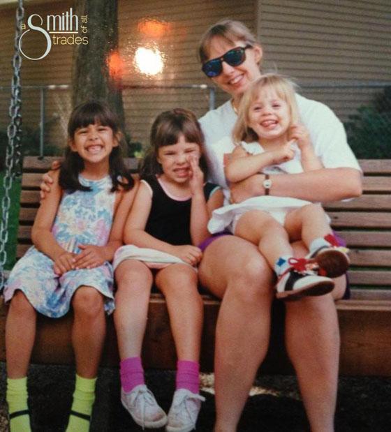 Allie, Jess, Mom & Emily
