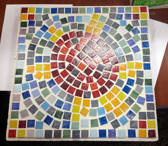 Finished mosaic