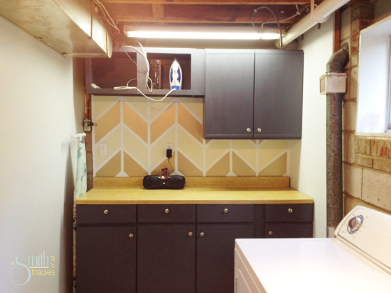 {A Smith of All Trades} Chevron wall
