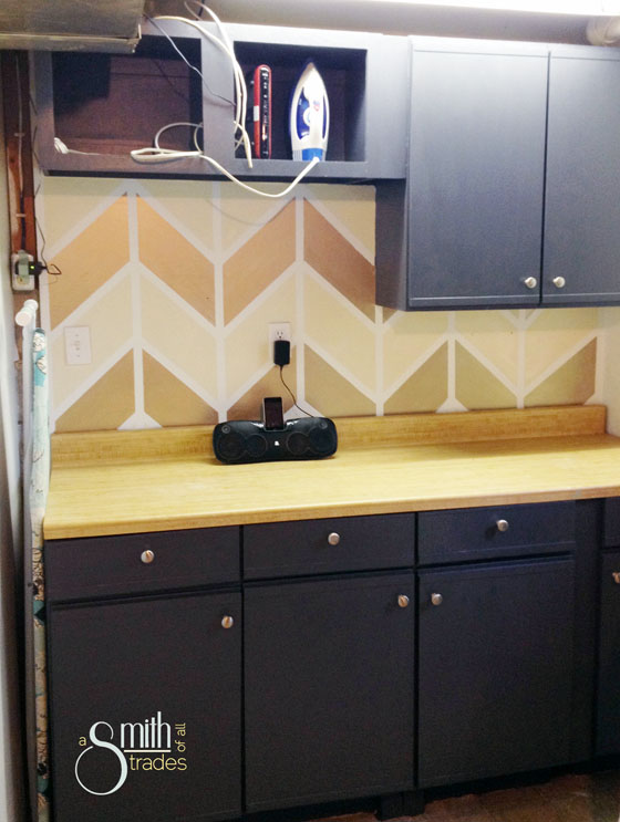 {A Smith of All Trades} Chevron wall again