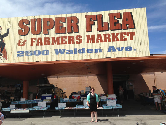 {A Smith of All Trades} Cheesin' outside the Super Flea