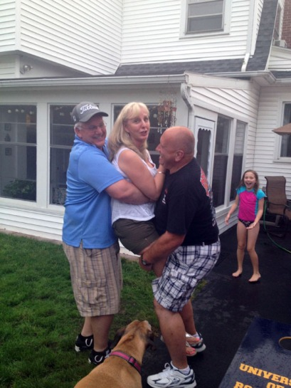 Mom getting teased and tortured by Lumpy and Dave.