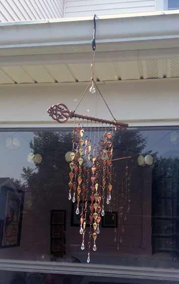 {A Smith of All Trades} New wind chime