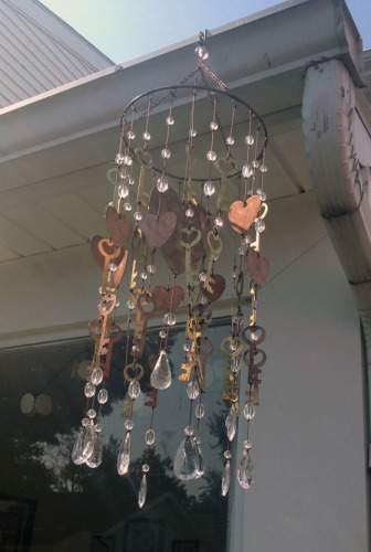{A Smith of All Trades} Old wind chime