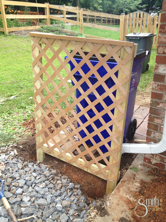 Download How To Build Wood Fence With Lattice Top Plans