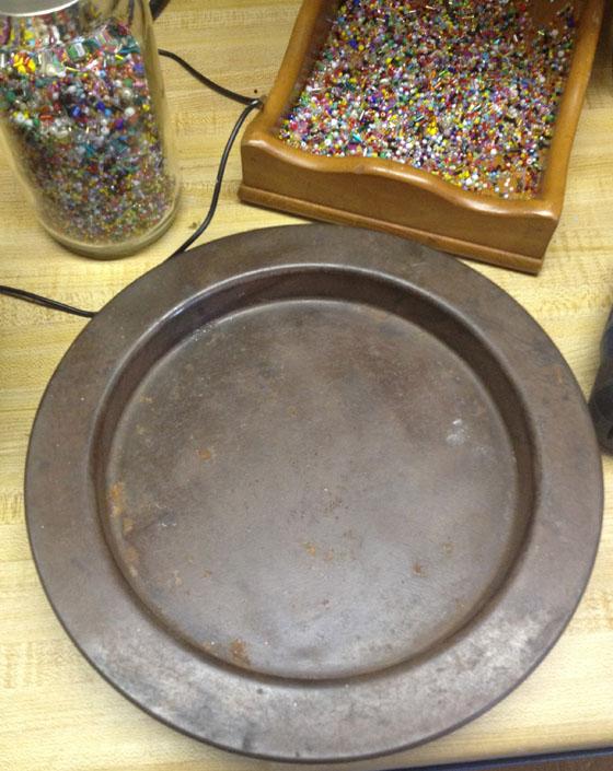 Circle tray ugly