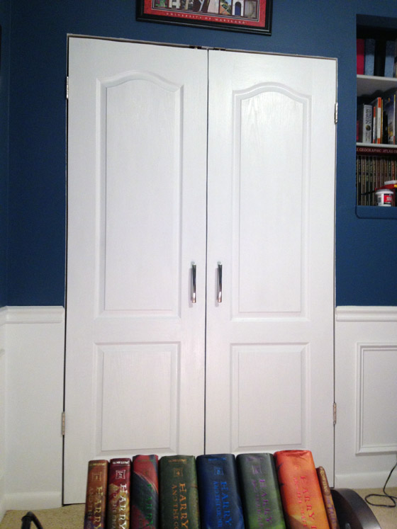 Closet Doors Painted