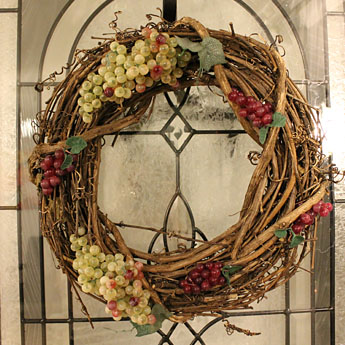 Grapevine wreath a smith of all trades for Buy grape vines for crafts