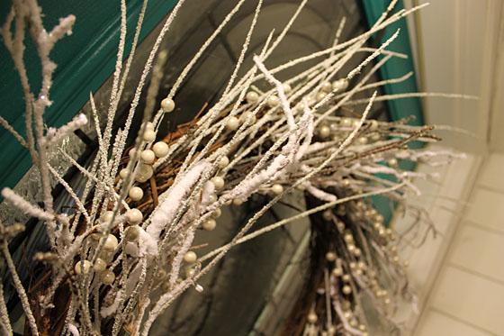 Winter Wreath close up