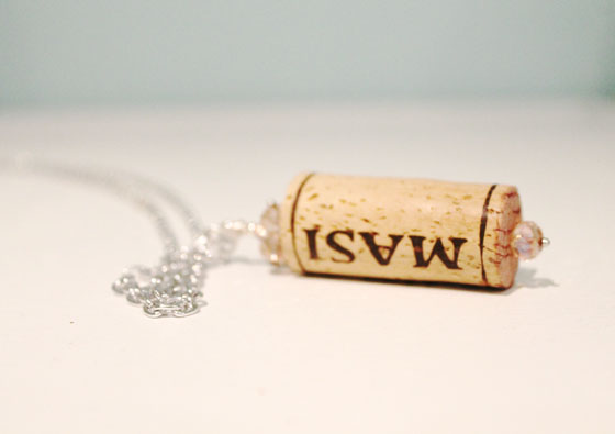 Cork Necklace