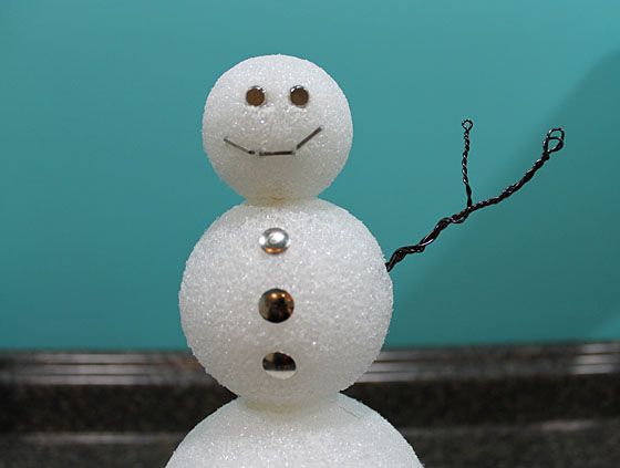 Snowman Arm