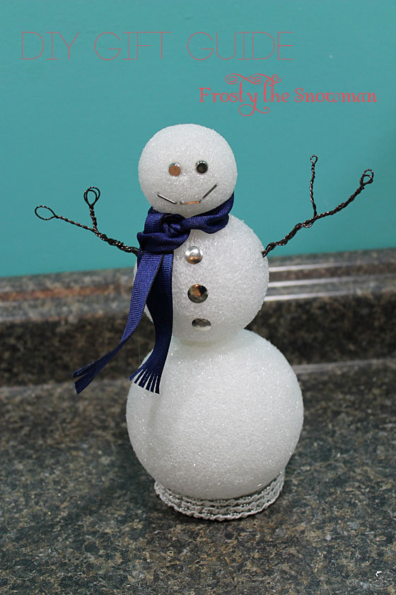 DIY GIFT GUIDE: Frosty the Snowman | A Smith of All Trades