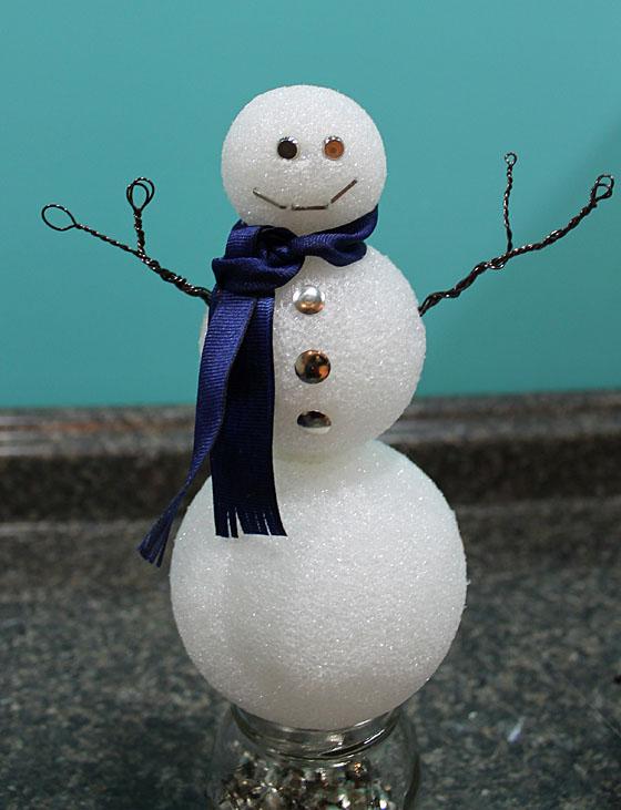 Snowman Scarf