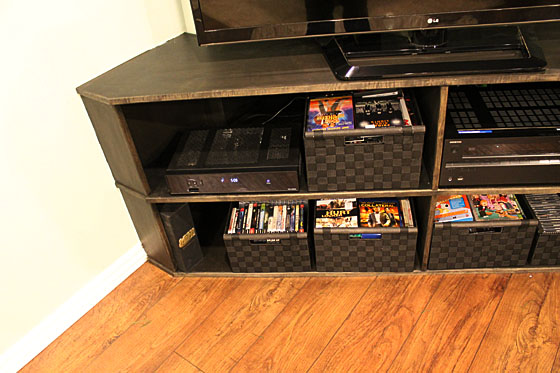 Entertainment Center_Shelves