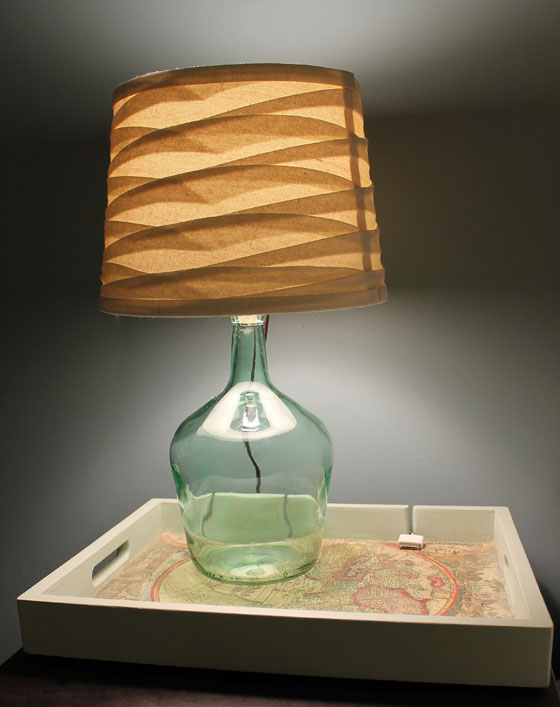 Jug Lamp On