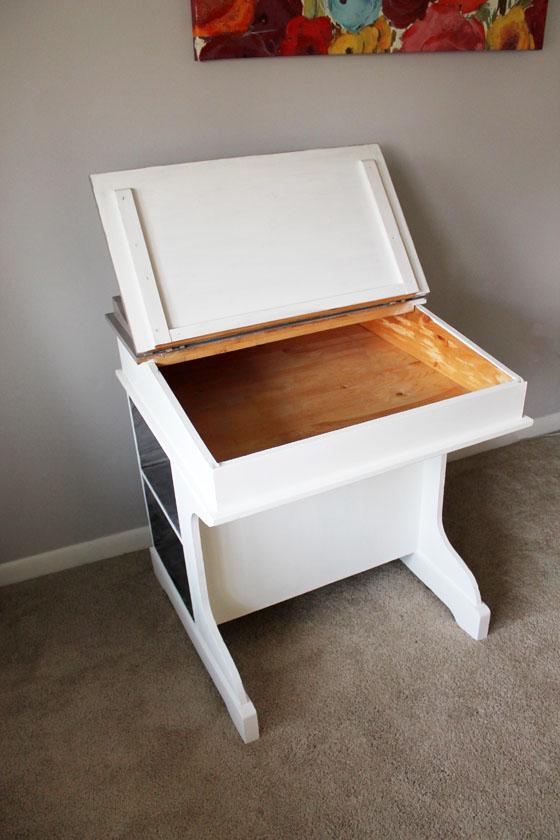 Child's Desk Open